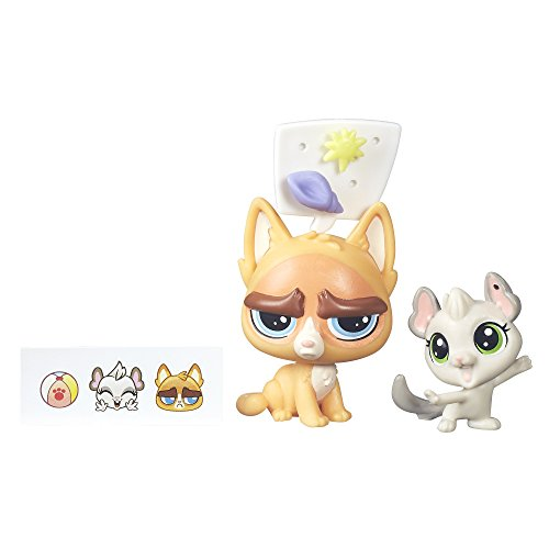 Littlest Pet Shop Sulky MacWhiskers & Chenille Chilla