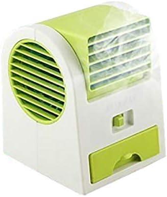 Geryy Mini Ventilador de Cooler USB Recargable Aire Acondicionado ...