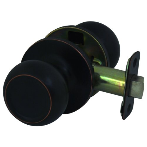 Cosmas 20 Series Hall and Closet Oil Rubbed Bronze Passage Door Knob [DK24-ORB]
