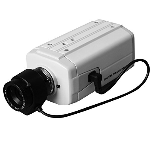 (Vanxse Cctv 1/3 CCD HD 960H Auto Iris 1000tvl 3.5-8mm Varifocal Lens Bullet Box Camera Surveillance Security)