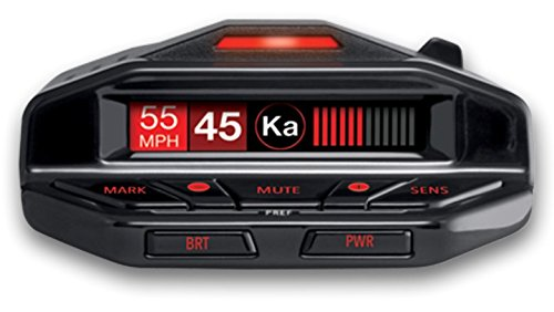 Escort Redline EX Radar Detector with Escort Live - Extreme Range, False Alert Filter, OLED Display, Voice Alerts