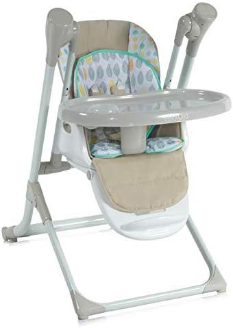 Baby Wippe Ventura 2/en 1/de naissance musique r/églable Lorelli enfants Chaise haute