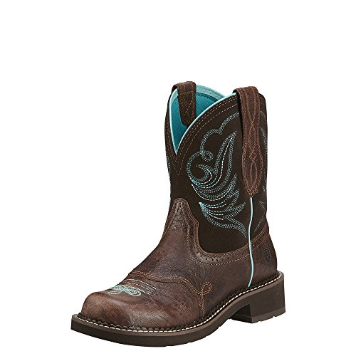 Ariat Fatbaby Boots Womens Western Heritage Dapper Choc