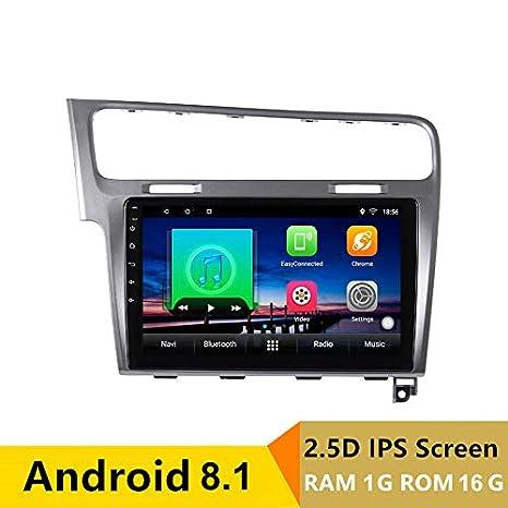 Reproductor de DVD para Coche con GPS para Volkswagen VW Golf 7 2013 2014 2015, Bluetooth, 10,1 Pulgadas: Amazon.es: Electrónica