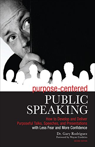 Purpose-Centered Public Speaking