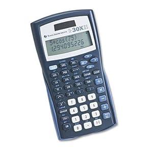 Texas Instruments(R) TI-30X IIS Solar Scientific Calculator
