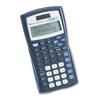 Texas Instruments TI-30X IIS Solar Scientific Calculator (Ti30xa Calculator Scientific)