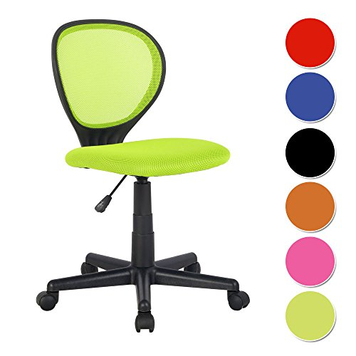 Schreibtischstuhl clipart  SixBros. Bürostuhl Drehstuhl Schreibtischstuhl Grün - H-2408F-2 ...