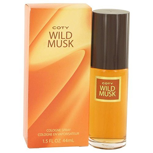 WILD MUSK by Coty Cologne Spray 1.5 oz for Women - 100% Authentic (Perfume Wild Coty Musk)
