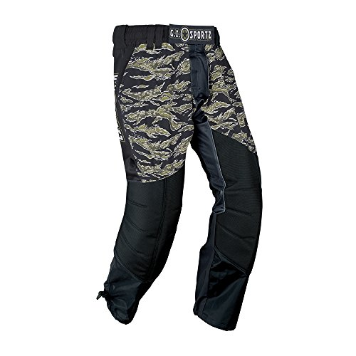 GI Sportz Performance GLIDE Paintball Pants - Tiger Jungle - X-Large by GI Sportz
