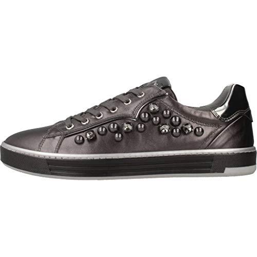 Grigio Grigie A806661 Sneaker Perle Con 6661 109 Sportive Scarpe Donna Nerogiardini vq6q5Y