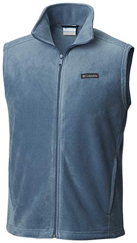 Columbia Men's Steens Mountain Full Zip Soft Fleece Vest, Medium