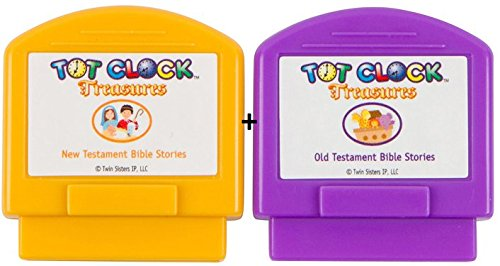 Tot Clock Treasures: Most Loved Bible Stories with Christian Music Lullabies (compatible with New & Improved Tot Clock only) by My Tot Clock