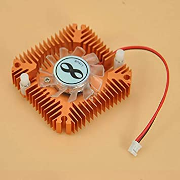 Fashionable Design Durable Metal Material Cooling Fan Heatsink Cooler for CPU VGA Video Card for PC Computer