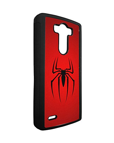 Marvel Lg G3 Case Spiderman SuperHero, Lg G3 Case Marvel Comic Logo TPU Silicone Protective Case Cover for Girls