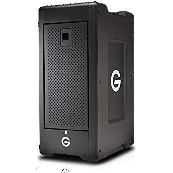 G-Technology G-SPEED Shuttle XL 80TB (8 x 10TB HDD) 8-Bay Thunderbolt 3 RAID Array, Up to 2000MB/s Transfer Rate, Supports RAID 0, 1, 5, 6, 10 and 50