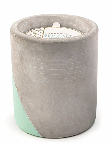 ction Scented Soy Wax Candle, 12-Ounce, Sea Salt & Sage (Aroma 12 Ounce Salt)