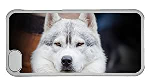 Cheap iphone covers unique Dog face close up PC Transparent for Apple iPhone 5C