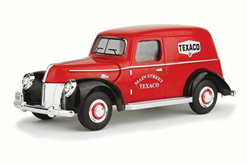 1940 Ford Panel (1940 Ford Ford Panel Van Texaco, Red - Texaco 0611R - 1/32 Scale Diecast Model Toy Car)