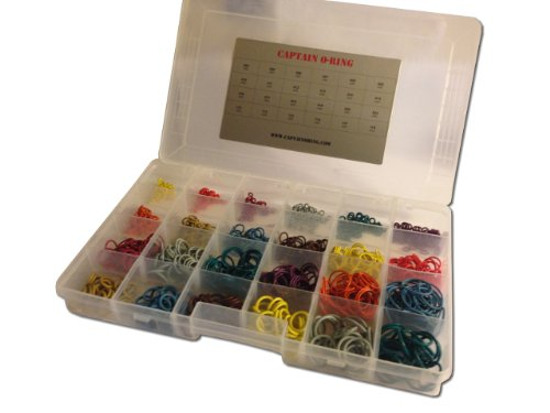 MASTER TECH Color Coded Paintball O-Ring Box Kit - Necessity for all stores, fields, techs! by Captain O-Ring LLC