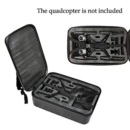 DDLmax Black ABS Hard Shell Backpack Case Bag for Hubsan H501S Quadcopter by DDLmax (Image #4)