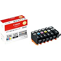 Canon Ink Tank BCI-326 (BK / C / M / Y / GY) + BCI-325 Multi-Pack BCI-326 +325 / 6MP