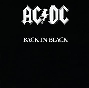 amazon back in black ac dc 輸入盤 音楽