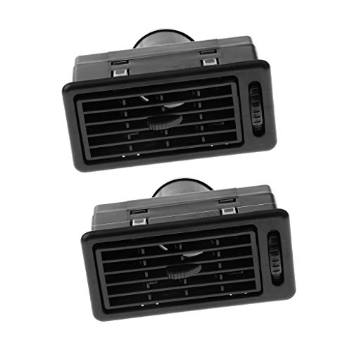 D DOLITY Pack of 2 Auto RV ATV Dashboard Air Vent Console Center AC Ventilation Outlet, Automotive Upgraded Replacement