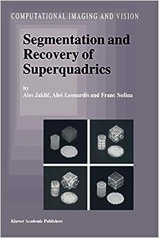 Segmentation and Recovery of Superquadrics Download Epub Free
