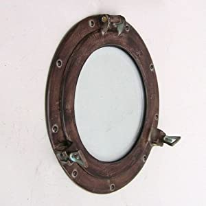 41kj4DluTtL._SS300_ 100+ Porthole Themed Mirrors For Nautical Homes For 2020