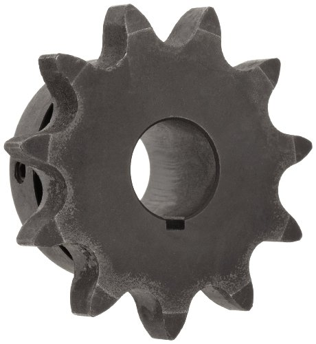 (Martin Roller Chain Sprocket, Hardened Teeth, Bored-to-Size, Type B Hub, Single Strand, 60 Chain Size, 0.75
