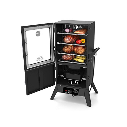 smoke hollow 38205gw 38 inch propane gas smoker with window gas barbeque reviews. Black Bedroom Furniture Sets. Home Design Ideas