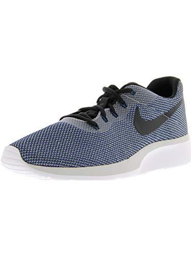 Nike Mens Tanjun Racer VAST Grey Black Navy White Size 10