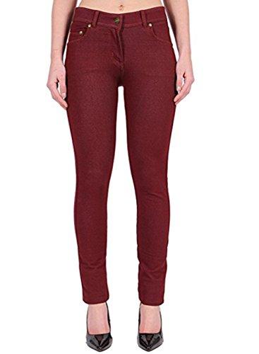 Missmister Missmister Donna Jeans Wine Jeans Jeggings 5grgOwxzPq