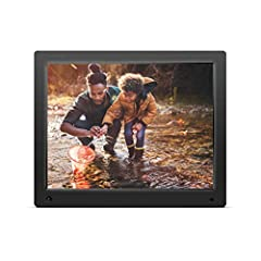 Nixplay Cloud Frames are the easiest way get in touch with your photos. Place the frame in your loved one's home and easily email or send photos using the Nixplay Mobile App for iPhone & Android. Using Wi-Fi connectivity, display photos s...