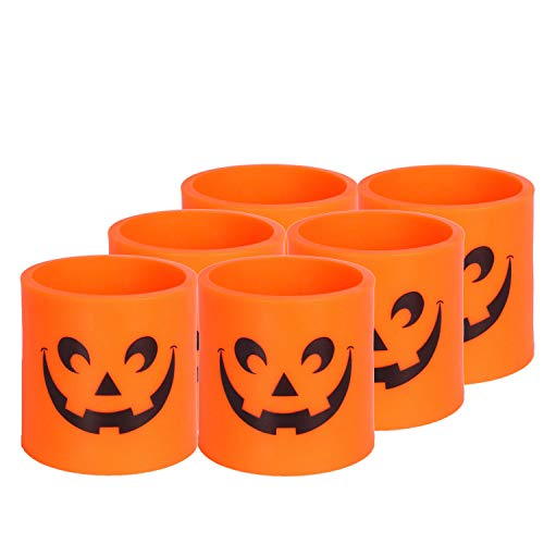 Halloween Lights Battery Operated Indoor Flameless Candles Orange