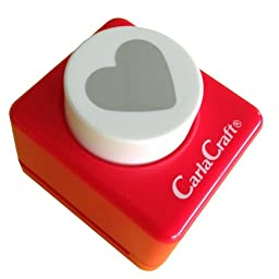 Carl Craft Craft Paper Punch, Heart (CP-2 Heart)