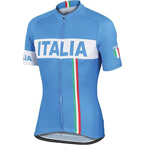 Cycling Jerseys Men's Bicycle Jersey Summer Breathable Jersey Bike Biking Shirt V278 (W, - Jersey Italia Cycling