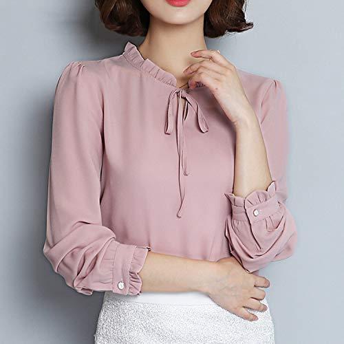 Camisa Casual de Primavera, otoño, para Mujer, 2019, de Gasa ...