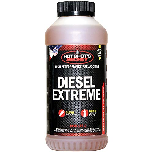 Hot Shot's Secret P040416Z Diesel Extreme Clean and Boost - 16 fl. oz.
