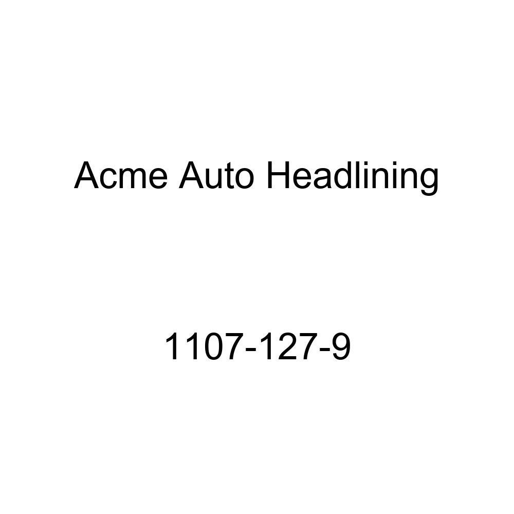1937-38 GM 4 Door 7 Bow Sedan Acme Auto Headlining 1107-127-9 Red Replacement Headliner