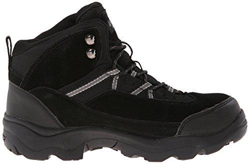 Hi-Tec–Botas de bandera Pro Mid ST trabajo para hombre Negro