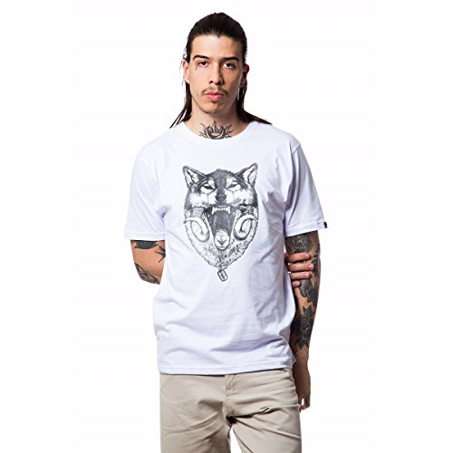 Camiseta Basica Wolf 321 - Branco - Gg