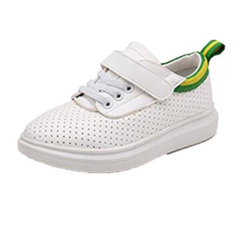 Ohmais Kinder Mädchen flach Freizeit Sandalen Sandaletten Kleinkinder Mädchen Kinderschuhe und Stiefeletten Grün