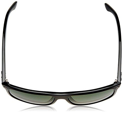 hombre Ray Ban sol Rb4147 de Rectangulares Black Lens Green Frame Gafas para Crystal 6gB6Z0