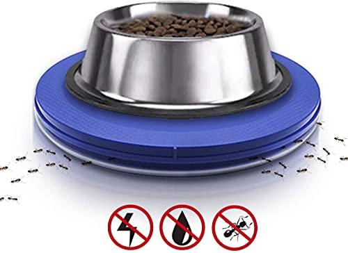 Plato de comida para mascotas anti-hormigas