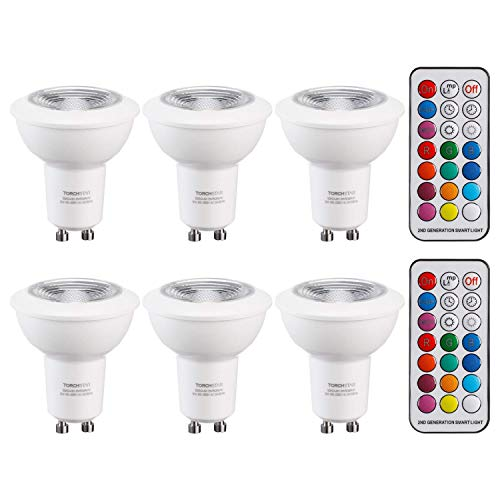 Colour Changing Gu10 Led Spot Light Bulb in US - 7