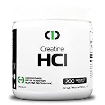 OneBrand Pure Creatine HCl Powder (200 Servings) | Unflavoured Micro-Dose