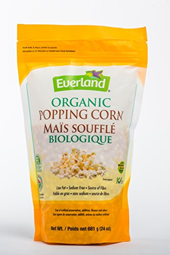 Everland Organic Popcorn, 681gm