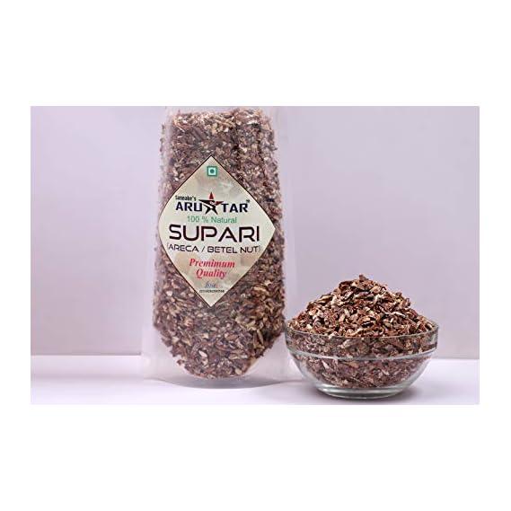 Arustar Supari / Areca nut Plain Tukada - 200 gm